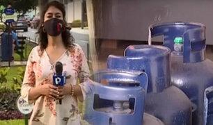 Usuarios afectados por el  incremento del precio del balón de gas