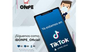 ONPE abre cuenta en TikTok: ¿Cómo busca el ente electoral impulsar el voto juvenil?