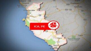 Ica: sismo de magnitud 4.5 se registró hace instantes en Nazca