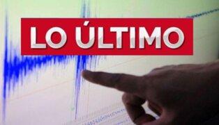 Sismo de magnitud 3.6 se registró esta mañana en Arequipa