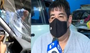 SJL: hombre acusado de agredir a taxista asegura que solo es el dueño del vehículo