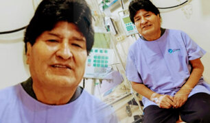 Evo Morales se recupera de la COVID-19