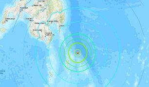 Terremoto de 7 grados sacude las costas de Filipinas