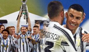 Con CR7 goleador la Juventus es el campeón de la Supercopa
