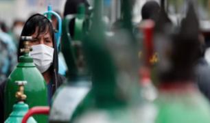 COVID-19: demanda por oxígeno se incrementó en un 50% a nivel nacional