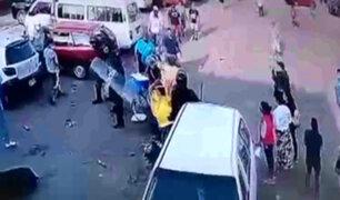 Fiscalizadores de la MML agredieron a heladero para quitarle su carrito