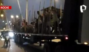 Tumbes: extranjeros ingresan al Perú en un camión de manera ilegal