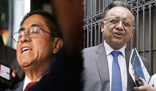 Declaran procedentes denuncias constitucionales contra Alarcón e Hinostroza