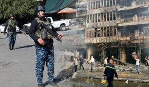 ISIS se atribuye atentado suicida en un mercado de Bagdad