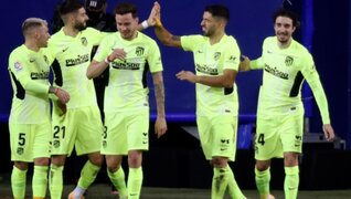 A punta de pistola: Suárez marcó doblete y deja al Atlético más líder que nunca en LaLiga
