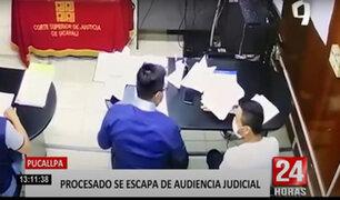 ¡Insólito! abogado ayuda a fugar a su patrocinado de audiencia pública