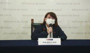 Perú cuenta con tres nuevos casos de la cepa británica del virus, según Pilar Mazzetti