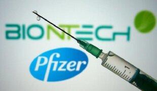 Pfizer y BioNTech entregarán 40 millones de vacunas a Covax: Perú será uno de los beneficiados