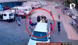MML sancionará a fiscalizadores que agredieron a heladero en la Costa Verde