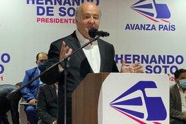 Elecciones 2021: Hernando de Soto realizó primer mitin vía Zoom