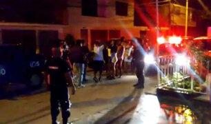 Covid-19: al menos 20 asistentes a una fiesta clandestina fueron intervenidos en Comas