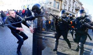 Más de 2 mil personas fueron detenidas en distintas ciudades de Rusia