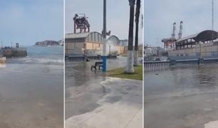 Marina de Guerra del Perú reporta fuerte oleaje en el litoral norte y centro del país