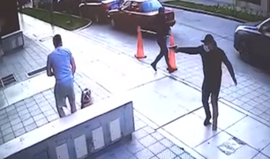 Pueblo Libre: delincuentes armados roban celular a joven que paseaba a su mascota