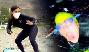 En el mar, con distancia: Así son los deportes acuáticos en tiempos de pandemia