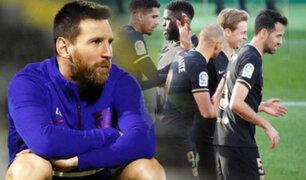 Sin Messi: Barcelona venció 2-0 al Elche