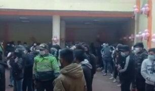 Intervienen a más de 150 personas en una fiesta Covid-19 en Puno