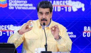 Venezuela: Nicolás Maduro presenta 'gotas mágicas' contra la covid-19