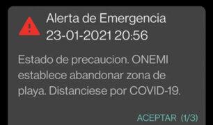 Chile: pánico por error en alerta de tsunami tras terremoto en la Antártida