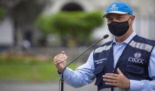 Jorge Muñoz: Municipalidad de Lima ha puesto a disposición locales de SISOL para vacunación