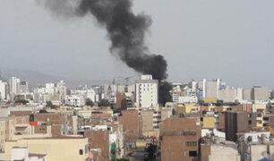 San Miguel: incendio consume una vivienda de la cuadra 7 de la calle Sucre