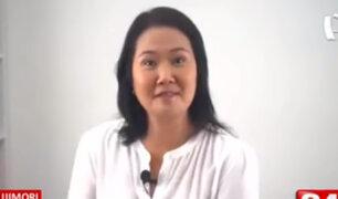 Keiko Fujimori define su plan de Gobierno 'Mano Dura'