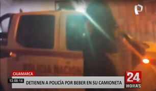 Policía amenazó con arma de fuego a personas que pedían baje el volumen de su auto