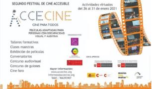 ACCECINE: el festival de cine accesible para personas con discapacidad visual y auditiva