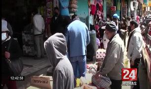 Tras anuncio de cuarentena: decenas abarrotan mercados y supermercados en provincias