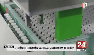 Incertidumbre: aún se desconoce la fecha exacta para el arribo de la vacuna china al Perú