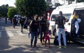 Madre de Dios: Intervienen a dos sujetos que trasladaban a 22 extranjeros ilegales