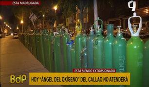 """Callao: """"Ángel del Oxígeno"""" denuncia extorsión por mafias y pide garantías"""