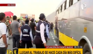 Autoridades luchan por imponer orden en Puente Nuevo