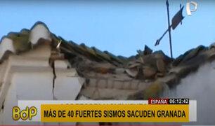 España: cadena de 40 sismos durante la madrugada causa pánico en Granada