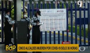 México: cinco alcaldes fallecen por COVID-19 en solo 36 horas