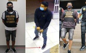 Cae delincuente que asaltó farmacia en SJL y que tenía en la mira hospedajes de SMP