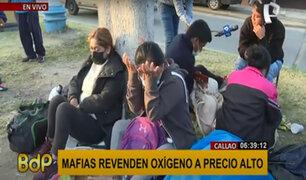"""Callao: decenas esperan que empresa del """"Ángel del oxígeno"""" reabra hoy"""