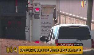 EEUU: fuga química en planta procesadora dejó 6 muertos y varios heridos