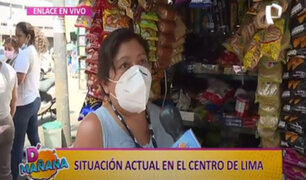 D´ Mañana: comerciantes que viven del día a día preocupados por nueva cuarentena