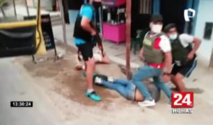 Ventanilla: capturan a peligrosa banda tras asaltar farmacia