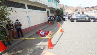 Empresario es asesinado tras retirar 8 mil soles del banco en Puente Piedra