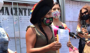 Candidata al Congreso por JPP denuncia ante JNE haber sido víctima de ataque de transfobia