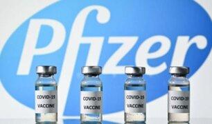 Más de mil dosis de Pfizer llegaron a Lambayeque