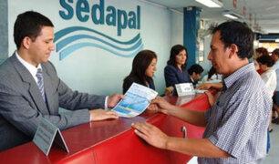 Sedapal: atención presencial continuará con todas las medidas de seguridad en cuarentena