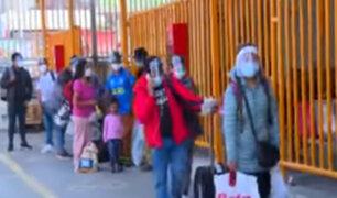 Precio de pasajes al interior del país subió a pocas horas de cuarentena